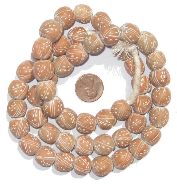 Natural Terracotta Beads