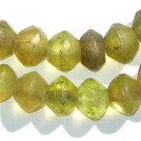 Image of Yellow Vaseline Beads - The Bead Chest
