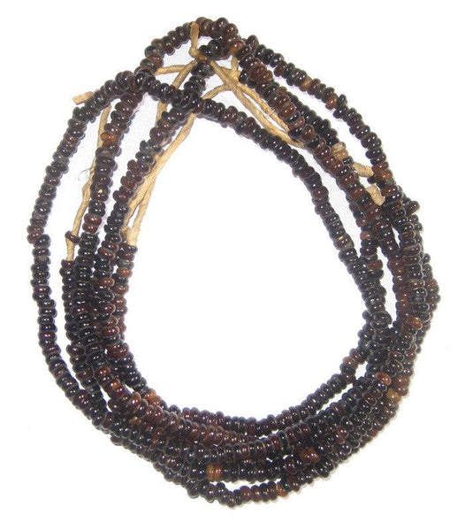 Natural Plant Seed Beads (3 Strands)