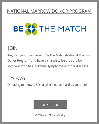 Klarety Be the Match | Bone Marrow Donor Program