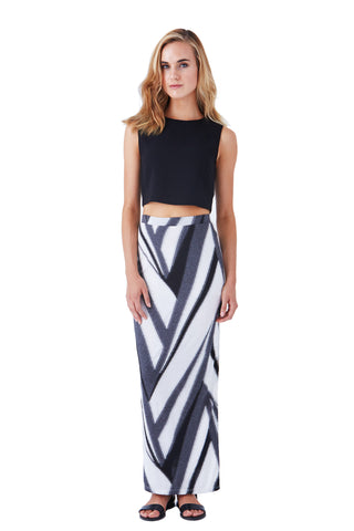 OVERLAND MAXI SKIRT WITH SIDE SLIT