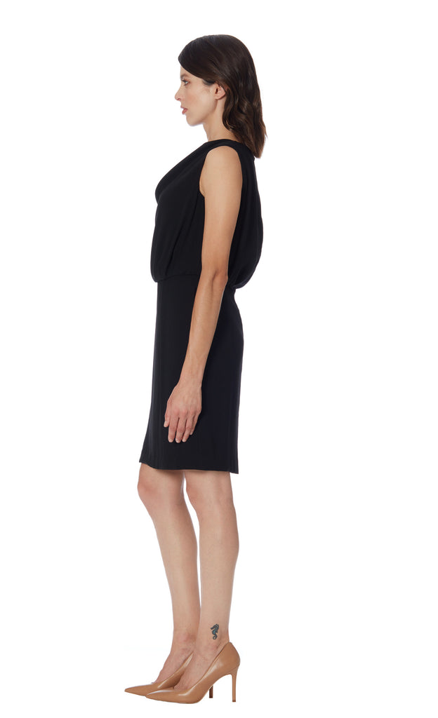 klarety dress with pockets sophisticated office dress working woman klarity