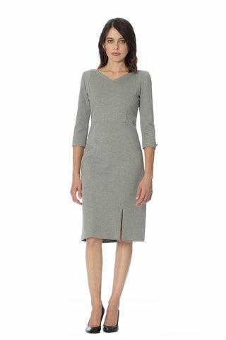 CIENEGA MOCK NECK MOD DRESS w/ Pockets