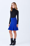 BEVERLY FIT AND FLARE KNIT SKIRT - Klarety