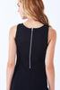 ROBLES SLEEVELESS SHEATH PONTE DRESS - Klarety