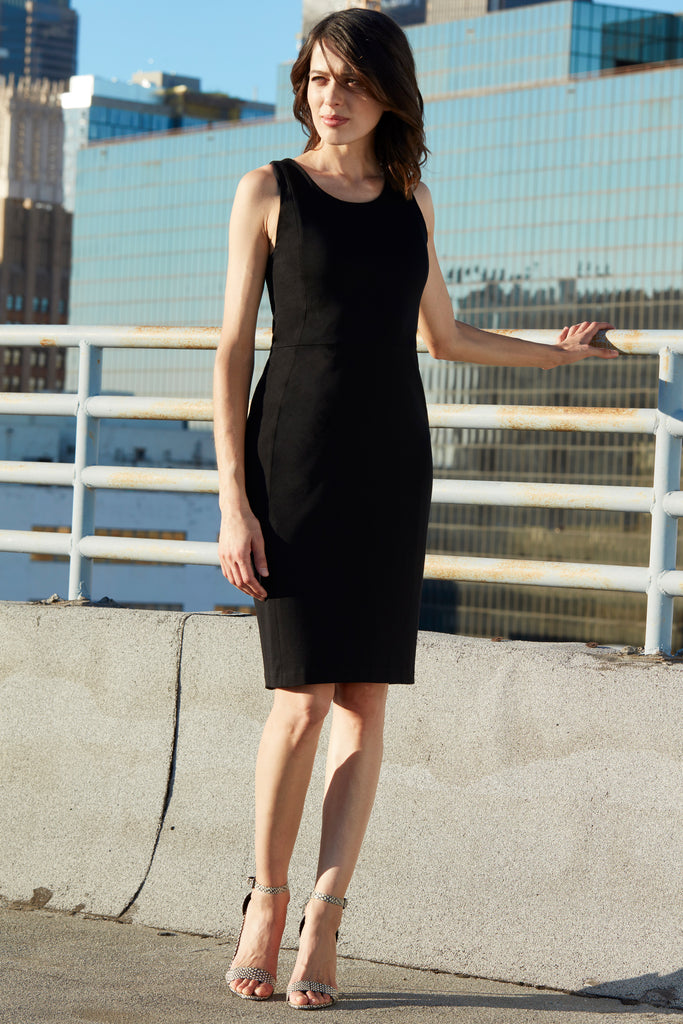 Little Black Dress LBD Sheath Sleeveless basic essential