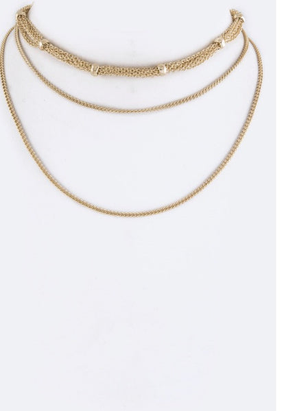 Jazmin Layer Choker