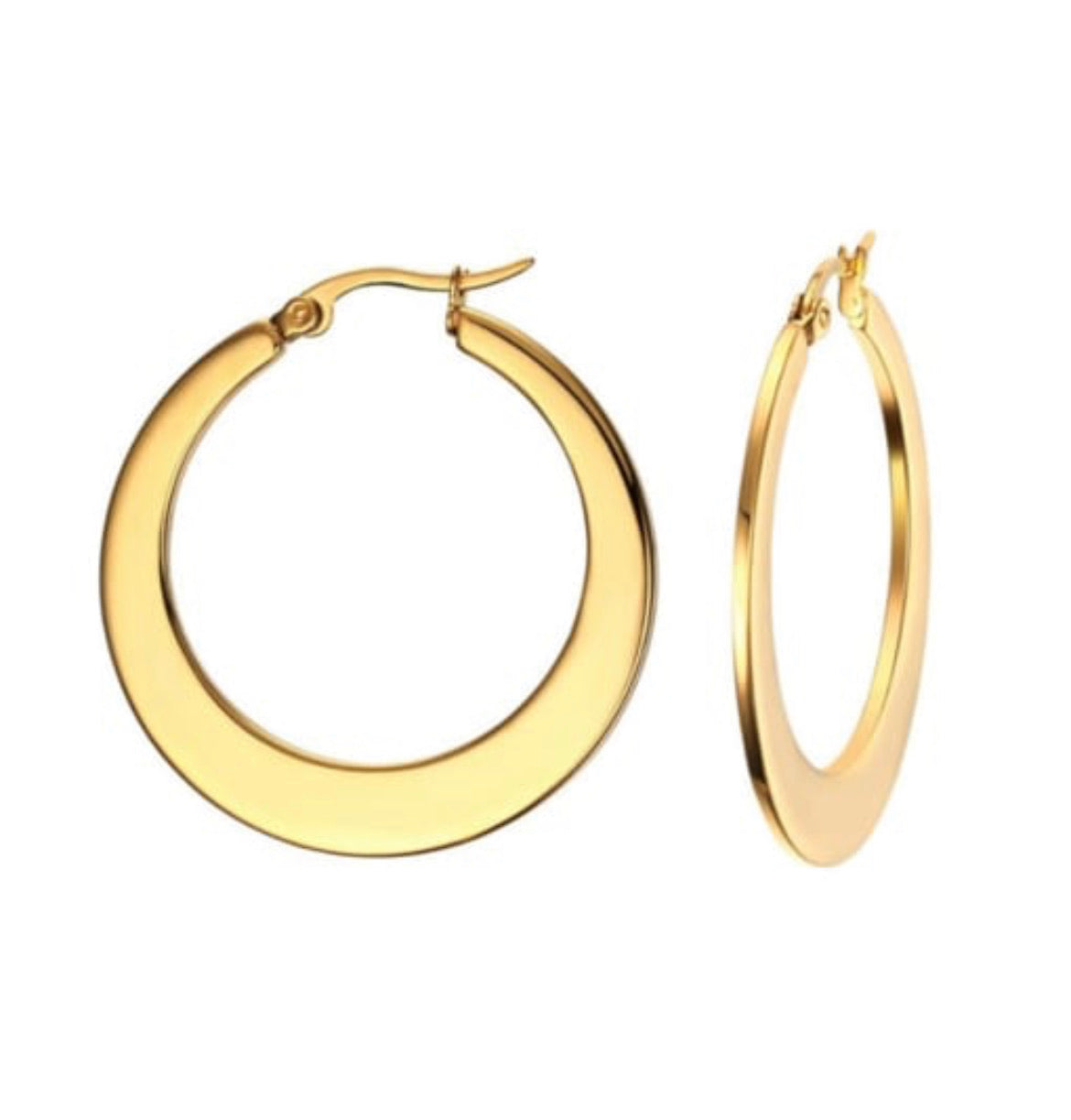 Havana Hoop Earrings
