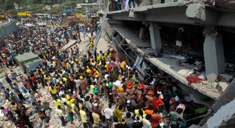 Rana Plaza collapse 2013