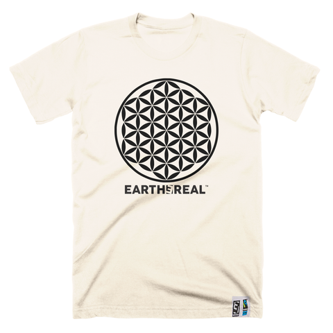 Flower Of Life økologisk/fair trade T-skjorte - Herre