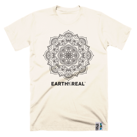 Indian Mandala økologisk/fair trade T-skjorte - Herre