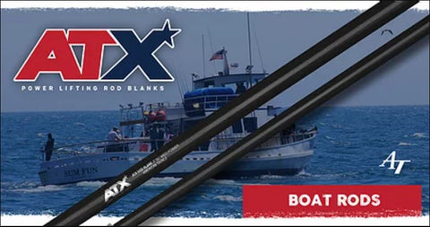 American Tackle Boat Rod ATX Blanks