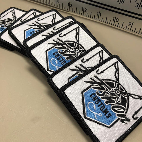 2018 Fish On Custom Patches (2 Pieces) - Fish On Customs