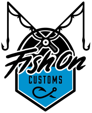 Fish On Customs Decal - Fish On Customs