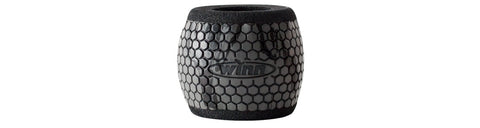 Winn Reel Grip Sleeves Barrel - Charcoal/Black - Fish On Customs