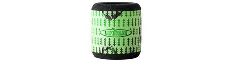 Winn Reel Grips Sleeves Straight - Chartreuse/Black - Fish On Customs