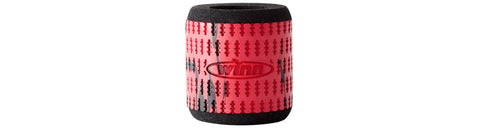 Winn Reel Grips Sleeves Straight - Red/Black - Fish On Customs