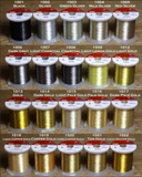 Hitena Thread - Metallic Vivid (Size D, 100 yd)