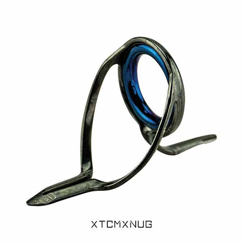 Alps Medium MXN Guides (TC Frame with Blue Zirconia Rings)