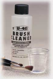 Brush Cleaner, 4oz - Fish On Customs