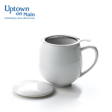 Mug with infuser and lid