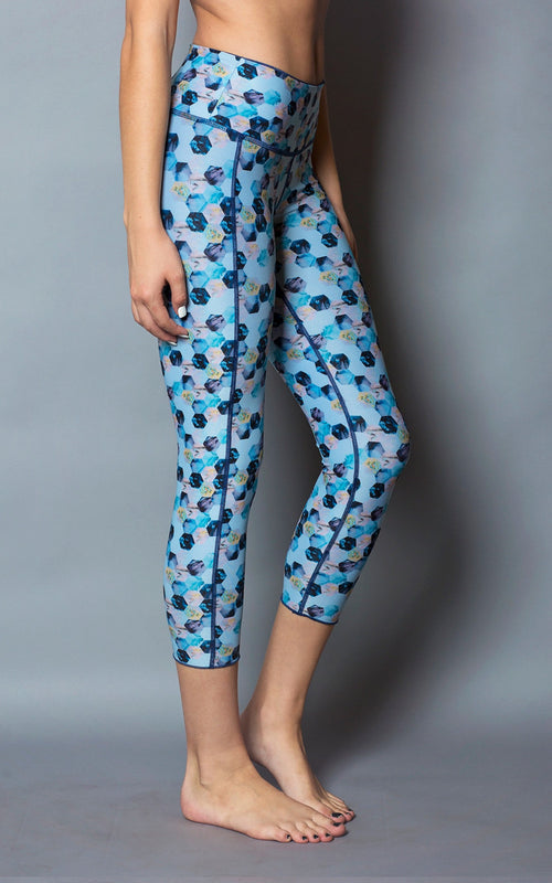 Blue Honey Capri