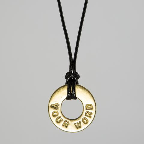 PERSONALIZED ADJUSTABLE NECKLACE - Infused Thoughts