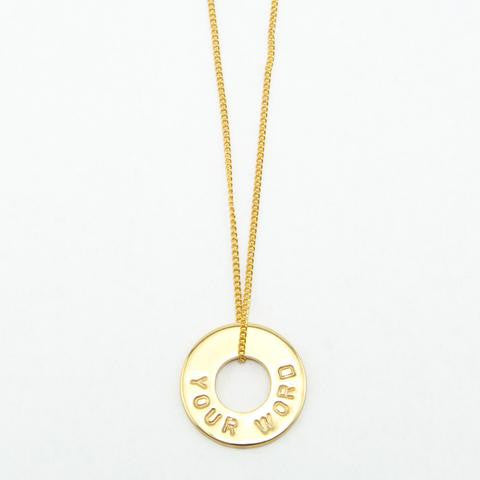 PERSONALIZED DAINTY NECKLACE - Infused Thoughts