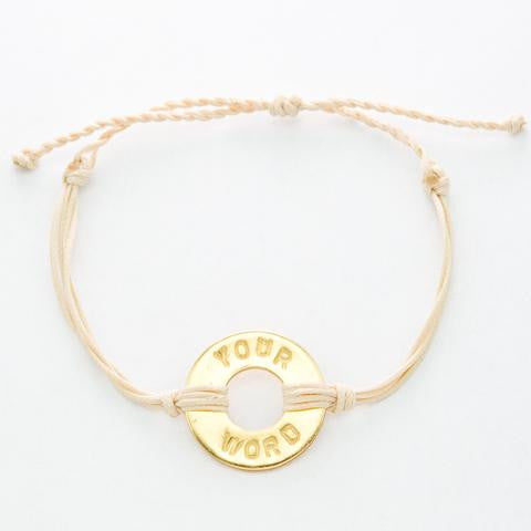 PERSONALIZED TWIST BRACELET - Infused Thoughts