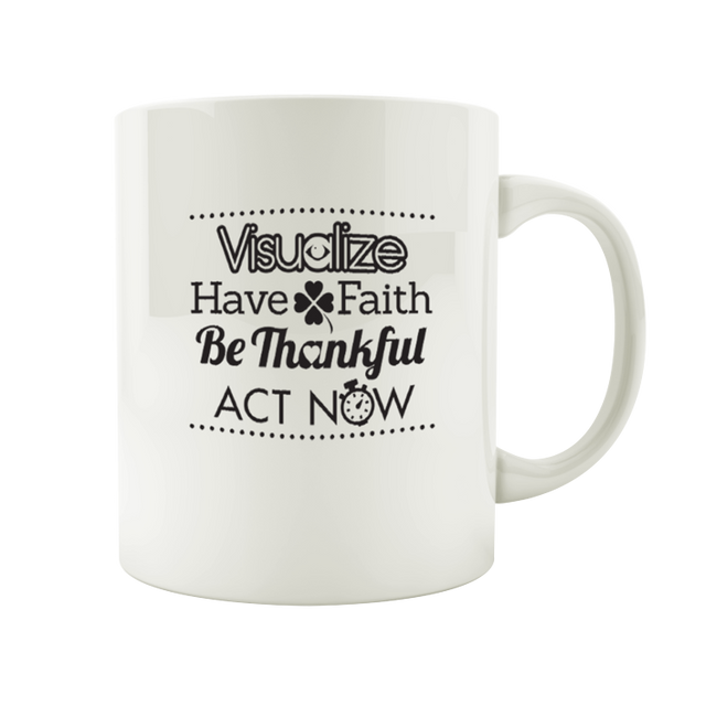 The Creative Visualization Mug - Infused Thoughts
