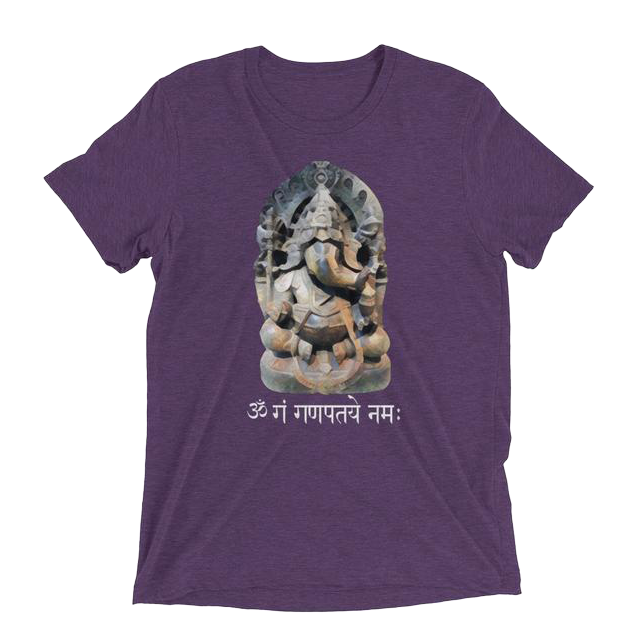 Ganesh Short Sleeve T-Shirt (Unisex) - Infused Thoughts