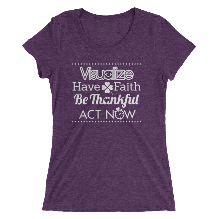 Visualization T-Shirt Women - Infused Thoughts