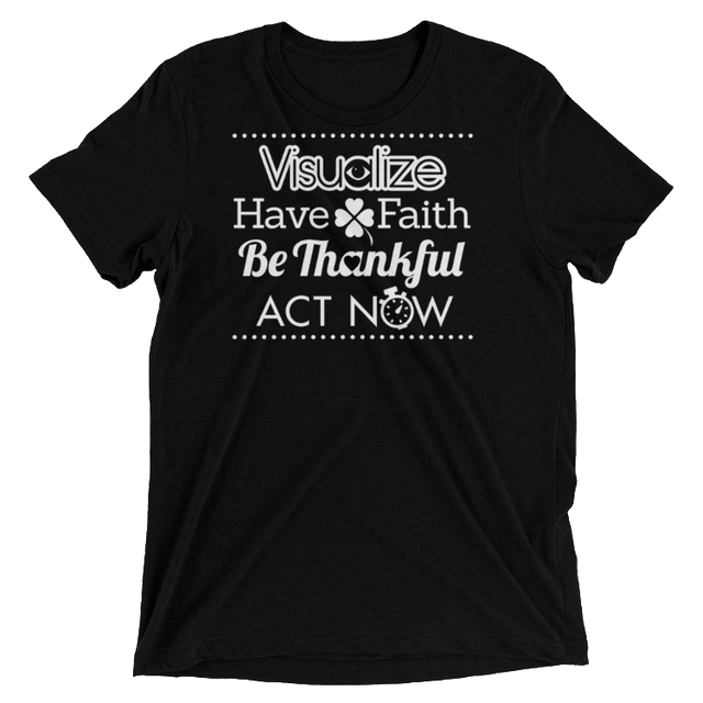 Visualization T-Shirt Unisex - Infused Thoughts