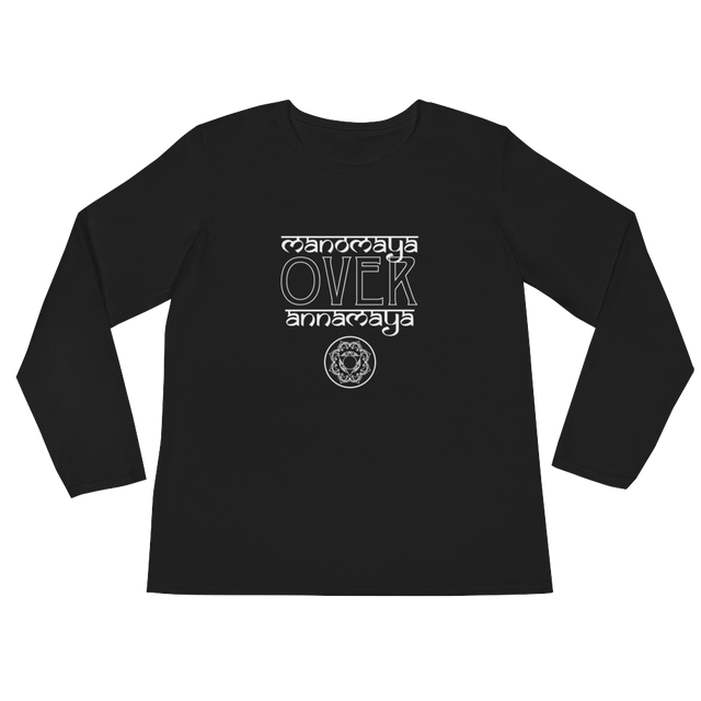 Mind Over Body Long Sleeve TShirt - Infused Thoughts