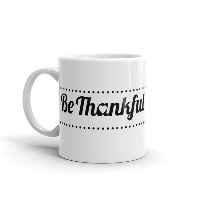Thankfulness Mug - Infused Thoughts