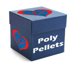 20 POUND BOX OF POLY PELLETS - ALWAYS MADE IN THE USA
