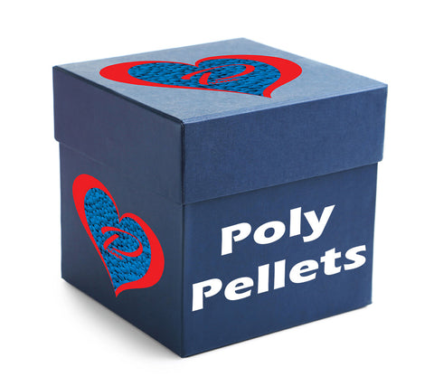 50 POUND BOX OF POLY PELLETS - ALWAYS MADE IN THE USA