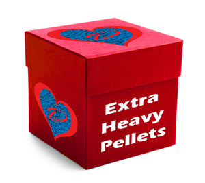 20 POUND BOX of EXTRA HEAVY plastic pellets - ALWAYS MADE IN THE USA