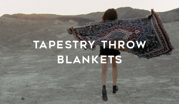 Slowtide Tapestry Throw Blankets