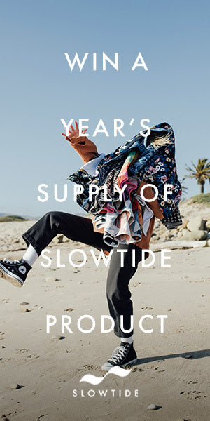 Win a year supply of Slowtide Product