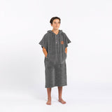 The Digs Changing Poncho - Heather Grey - S/M - Slowtide