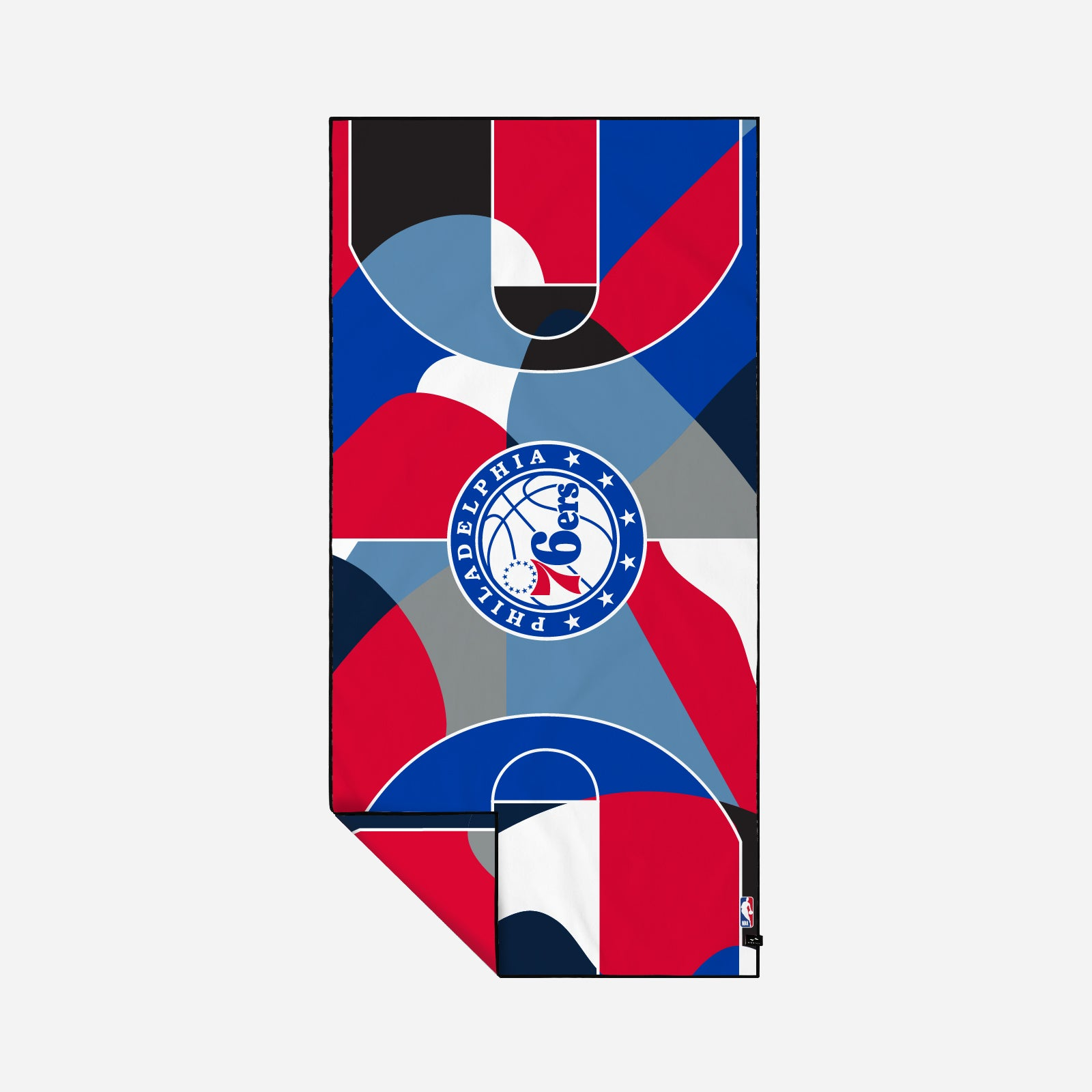76ers Court Camo Quick-Dry Towel - Slowtide