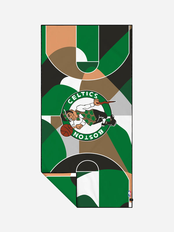 Celtics Court Camo Quick-Dry Towels - Slowtide