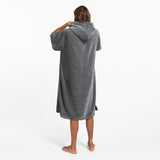 The Digs Changing Poncho - Heather Grey - Large - Slowtide