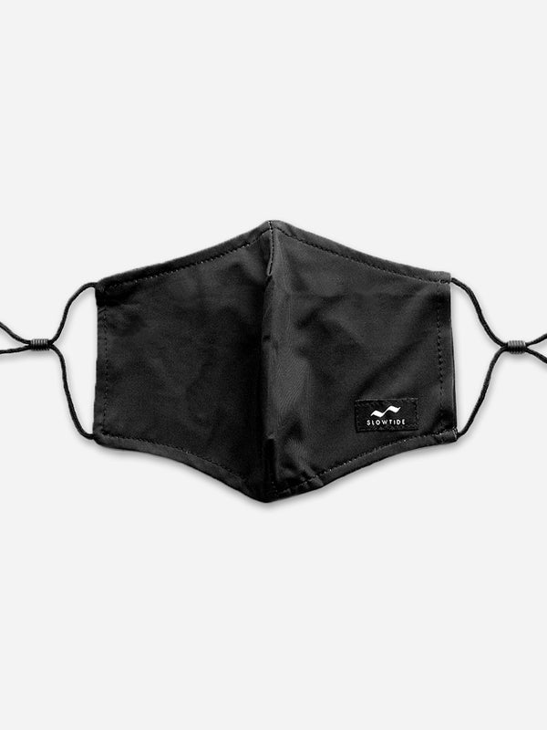 Adjustable Face Mask - Black - Slowtide