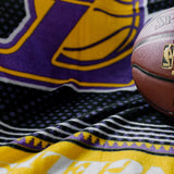 Lakers Sweater Fleece Blanket - Slowtide