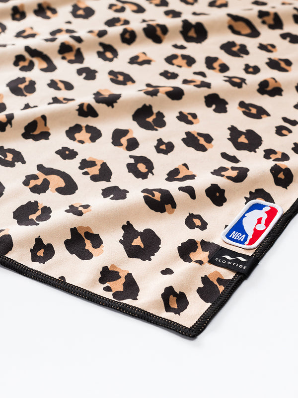 Lakers Cheetah Fitness Towel - Slowtide