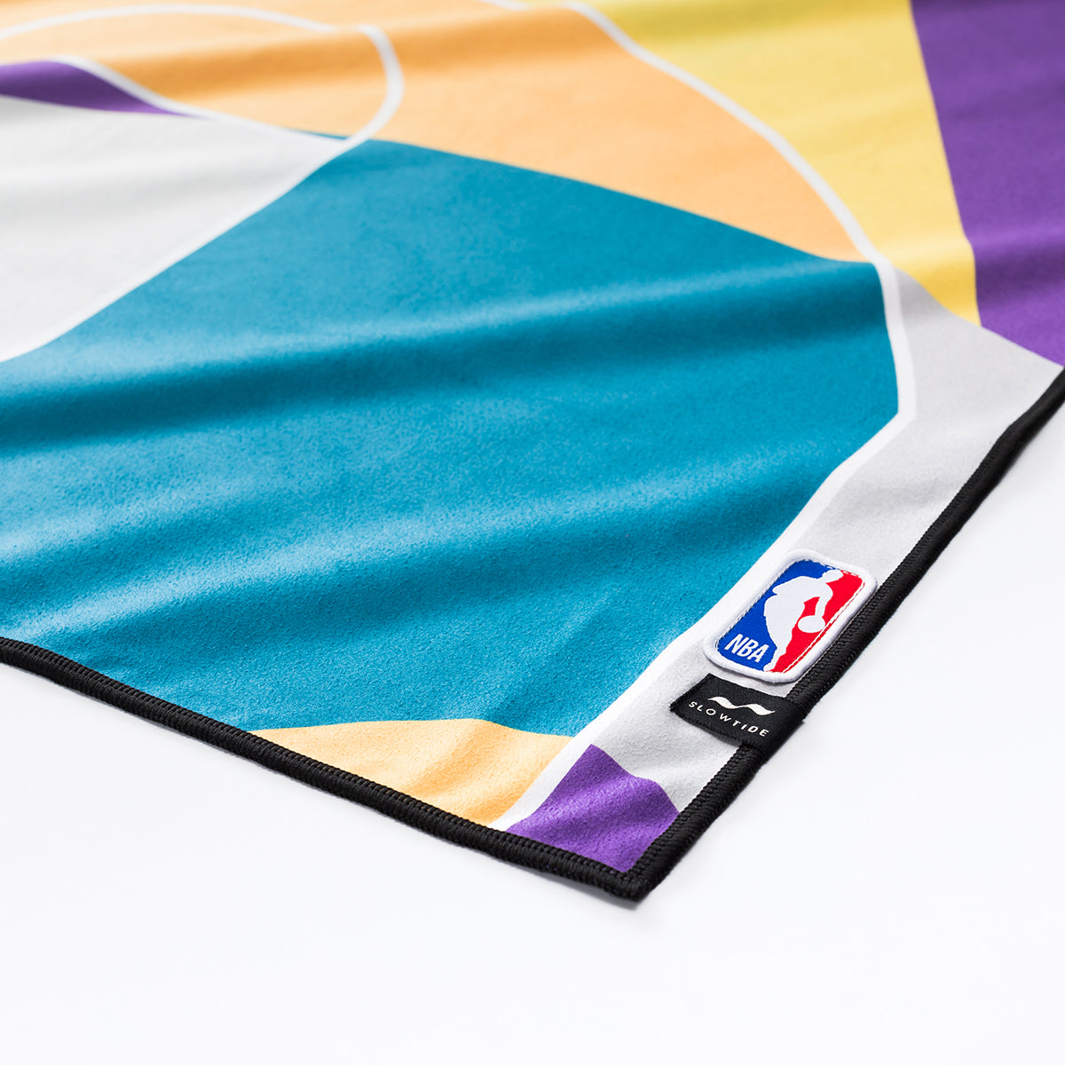 Lakers Court Camo Quick-Dry Towel - Slowtide