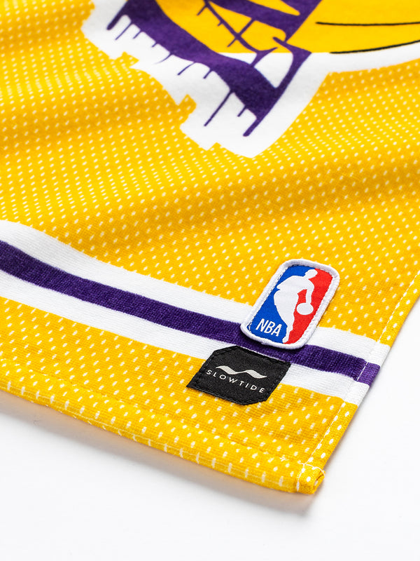 Lakers Jersey Fitness Towel - Slowtide