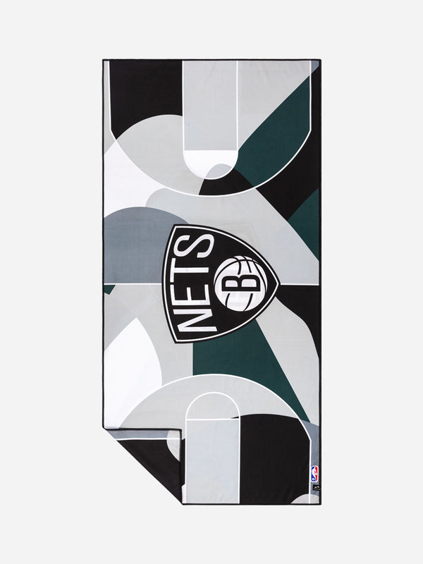 Nets Court Camo Quick-Dry Towel - Slowtide